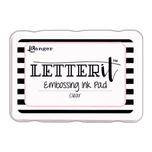 Letter It Embossing Ink Pad Clear
