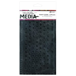 Dina Wakley Media Large Paint Combs Circles