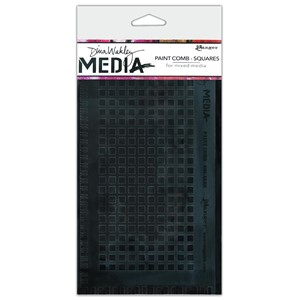 Dina Wakley Media Large Paint Combs Squares