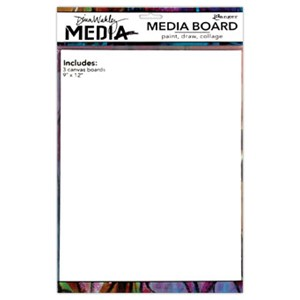 Dina Wakley Media Board 9 x 12 Includes 3 Panels
