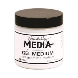 Soft Gel 4 oz. Jar - Dina Wakley MEdia Soft Gel Mediums