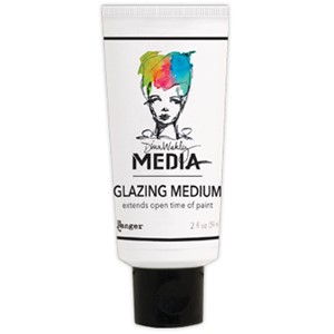 Glazing Medium 2 oz. Tube - Dina Wakley MEdia Glazing Medium