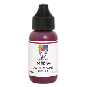 Heavy Body Acrylic Paint Fuchsia, 1 oz. Bottle
