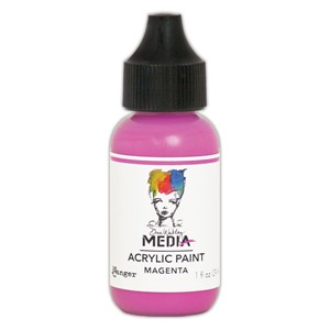 Heavy Body Acrylic Paint Magenta, 1 oz. Bottle