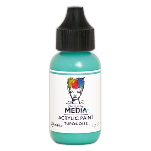 Heavy Body Acrylic Paint Turquoise, 1 oz. Bottle