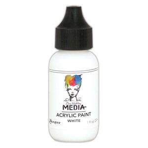 Heavy Body Acrylic Paint White, 1 oz. Bottle