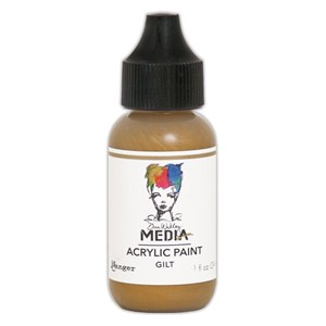Heavy Body Acrylic Paint Gilt, 1 oz. Bottle