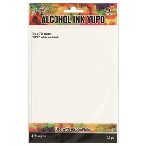 Alcohol Ink Yupo Paper® - White Includes 10 Sheets