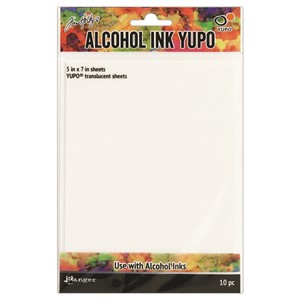 Tim Holtz Alcohol Ink CardstockTranslucent 86 lbs. 5 x 7 (In