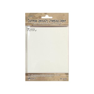 Distress Specialty Stamping Paper 4 1/4 X 5 1/2 20 Sheets