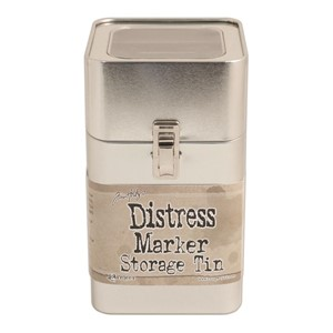 Distress Tin Empty NO Markers