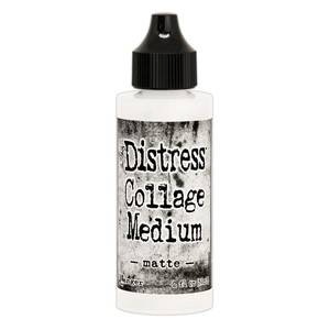 Tim Holtz Distress Collage Medium Matte 2oz. Bottle