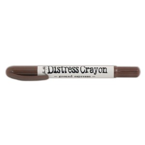 Distress Crayons -  Ground Espresso