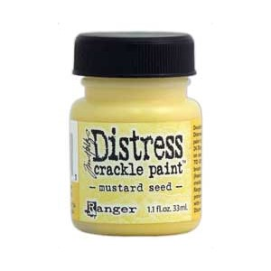 Mustard Seed, Distress Crackle Paint