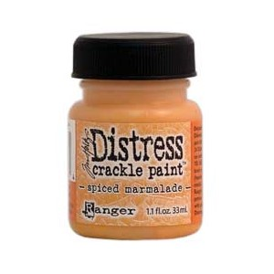 Spiced Marmelade, Distress Crackle Paint