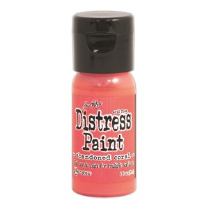 Distress Paints 1oz. Flip Cap - Abandoned Coral