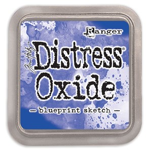 Distress Oxides - Blueprint Sketch