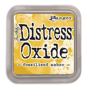 Distress Oxides - Fossilized Amber