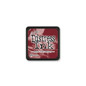 Distress Mini Ink Pad - Aged Mahogany