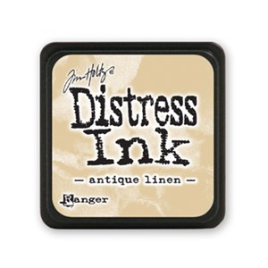 Distress Mini Ink Pad - Antique Linen