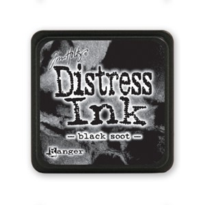 Distress Mini Ink Pad - Black Soot