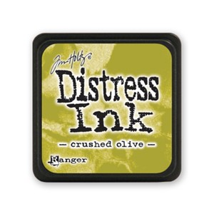 Distress Mini Ink Pad - Crushed Olive
