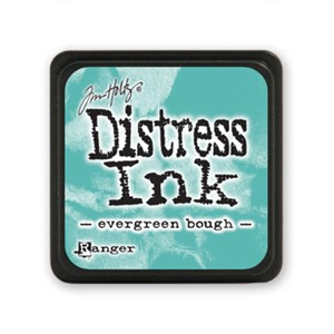 Distress Mini Ink Pad - Evergreen Bough