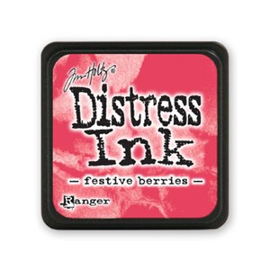 Distress Mini Ink Pad - Festive Berries
