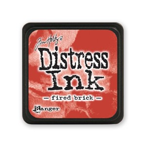 Distress Mini Ink Pad - Fired Brick