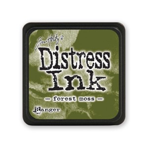 Distress Mini Ink Pad - Forest Moss