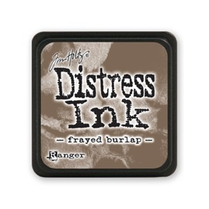 Distress Mini Ink Pad - Frayed Burlap