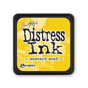 Distress Mini Ink Pad - Mustard Seed