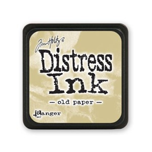 Distress Mini Ink Pad - Old Paper