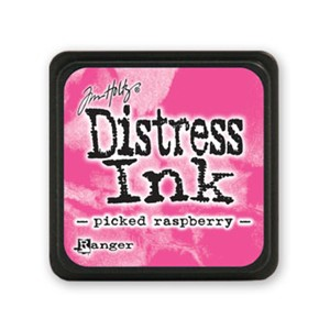 Distress Mini Ink Pad - Picked Raspberry