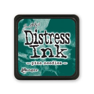 Distress Mini Ink Pad - Pine Needles