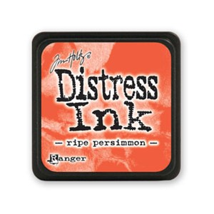 Distress Mini Ink Pad - Ripe Persimmon
