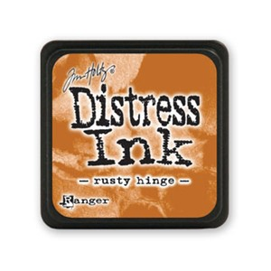 Distress Mini Ink Pad - Rusty Hinge