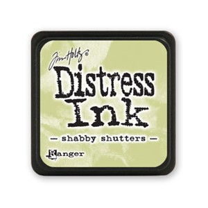Distress Mini Ink Pad - Shabby Shutters