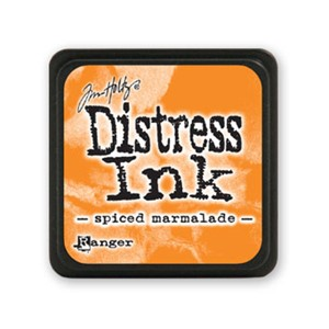 Distress Mini Ink Pad - Spiced Marmalade