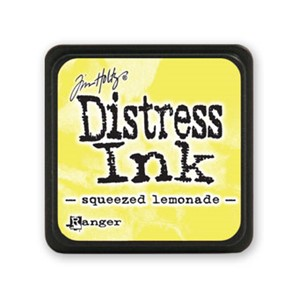 Distress Mini Ink Pad - Squeezed Lemonade