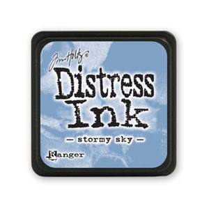 Distress Mini Ink Pad - Stormy Sky