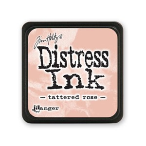 Distress Mini Ink Pad - Tattered Rose