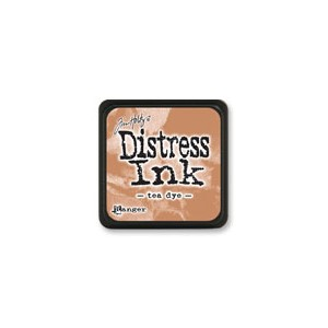 Distress Mini Ink Pad - Tea Dye