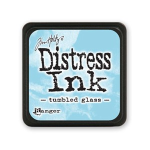 Distress Mini Ink Pad - Tumbled Glass