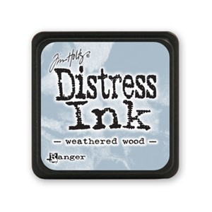 Distress Mini Ink Pad - Weathered Wood