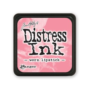 Distress Mini Ink Pad - Worn Lipstick
