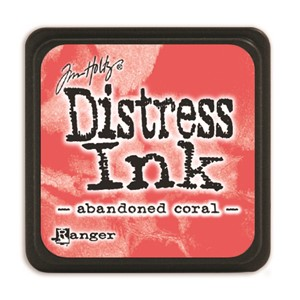 Distress Mini Ink Pad -Abandoned Coral