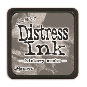 Distress Mini Ink Pad -Hickory Smoke