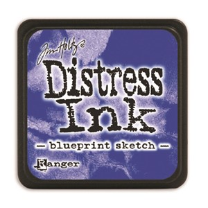 Distress Mini Ink Pad -Blueprint Sketch