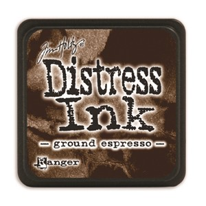 Distress Mini Ink Pad -Ground Espresso